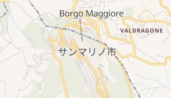 サンマリノ の地図