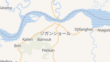 ジガンショール の地図