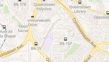 クイーンズタウン の地図
