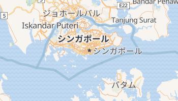 シンガポール の地図