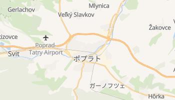 ポプラト の地図