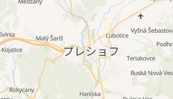 プレショフ の地図