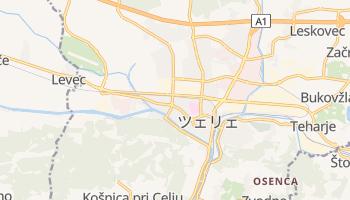 ツェリェ の地図