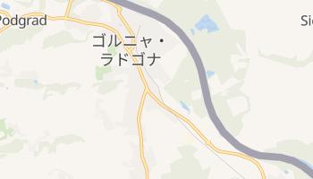 ゴルニャ・ラドゴナ の地図