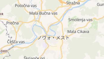 ノヴォ・メスト の地図