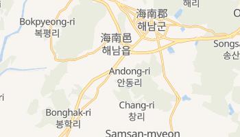 安東市 の地図