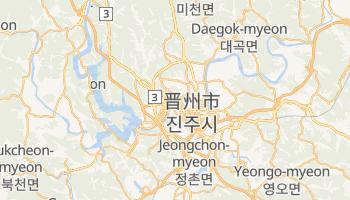 晋州市 の地図
