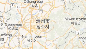 チョンジュ の地図