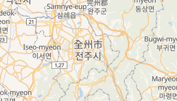 全州市 の地図