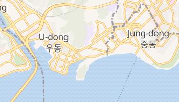 海雲台区 の地図
