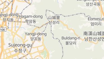 光州広域市 の地図