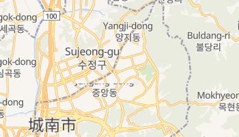 城南市 の地図