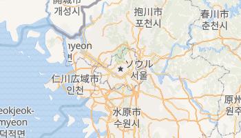 ソウル特別市 の地図