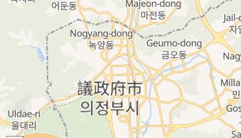 議政府市 の地図