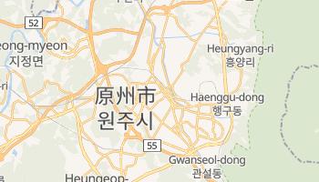 原州市 の地図