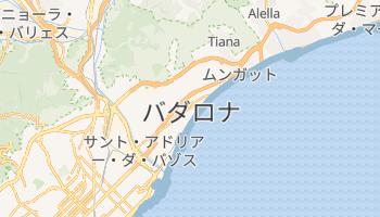 バダロナ の地図