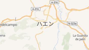 ハエン の地図