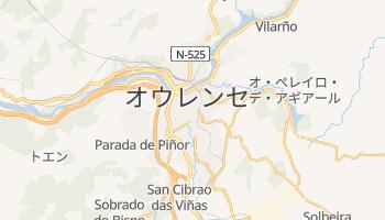 オウレンセ の地図