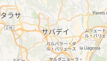 サバデイ の地図