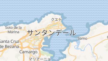 サンタンデール の地図