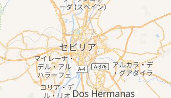 セビリア の地図