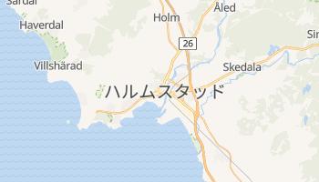 ハルムスタッド の地図
