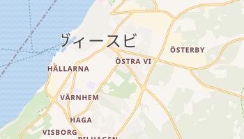 ヴィスビュー の地図