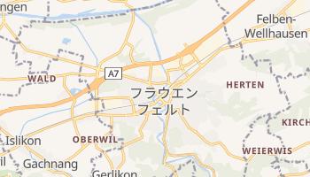フラウエンフェルト の地図