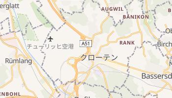 クローテン の地図