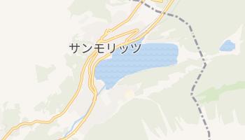 サンモリッツ の地図