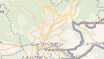 シャフハウゼン の地図