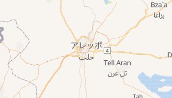 アレッポ の地図