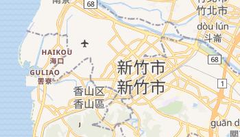 新竹市 の地図