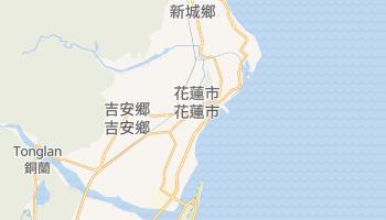 花蓮市 の地図