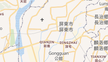 屏東市 の地図