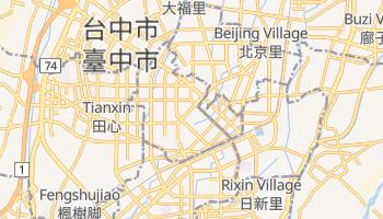 台中市 の地図