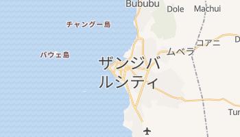 ザンジバル の地図