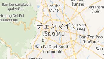 チエンマイ の地図
