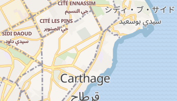 カルタゴ の地図