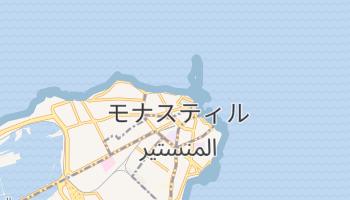 モナスティル の地図