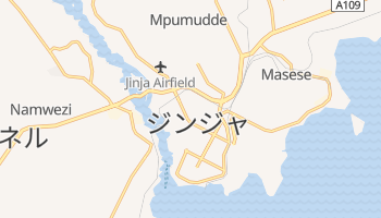 ジンジャ の地図