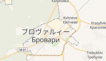 ブロヴァルィー の地図