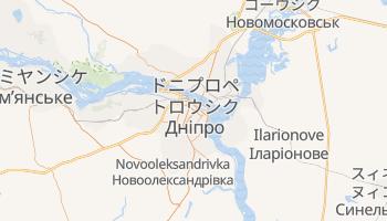 ドニプロペトロウシク の地図