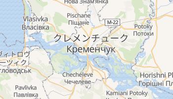 クレメンチューク の地図