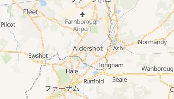 アルダーショット の地図