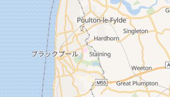 ブラックプール の地図