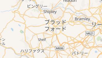 ブラッドフォード の地図