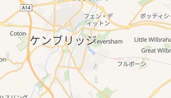 ケンブリッジ の地図