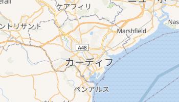 カーディフ の地図