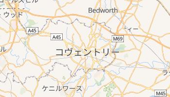 コヴェントリー の地図